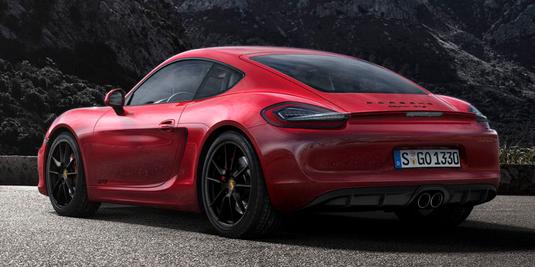Porsche Cayman GTS Canada