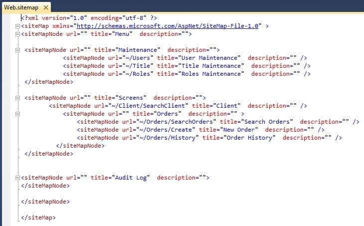 Telerik MVC Sitemap - How To Setup Sitemap In MVC
