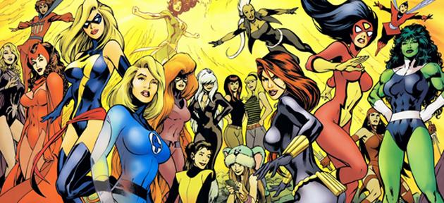 Marvel Ladies by icequeen654123 on DeviantArt