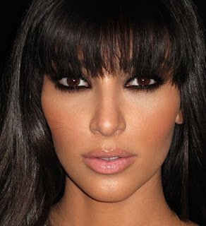Kim Kardashian's Short, Long Prom Hairstyle