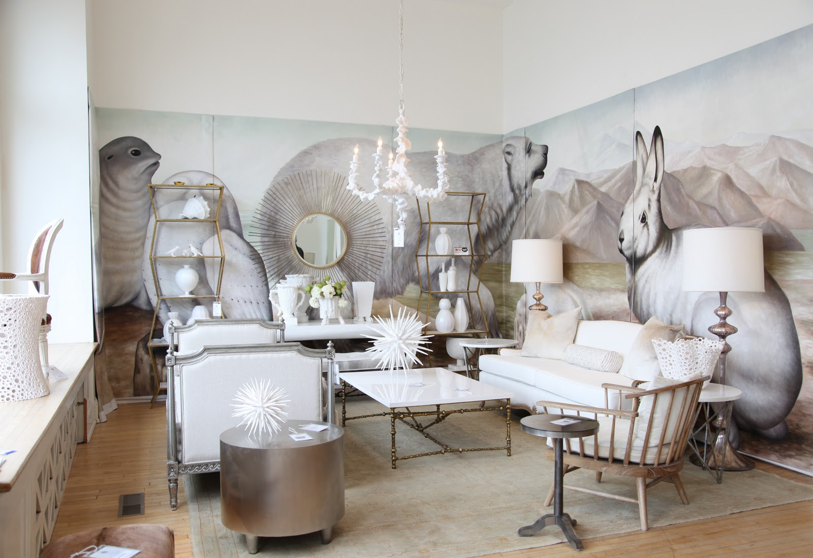 {Photo From Habitually Chic; Oly Studio, Fall High Point Furniture Market  2011}