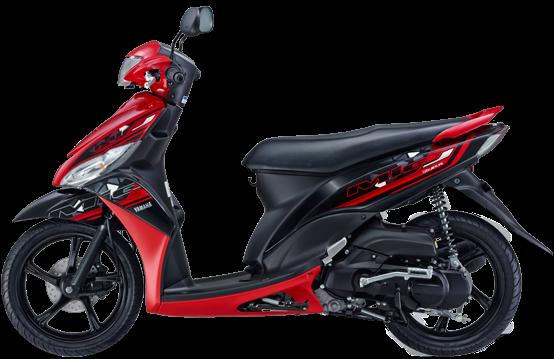 Yamaha Mio J FI 2014 Merah
