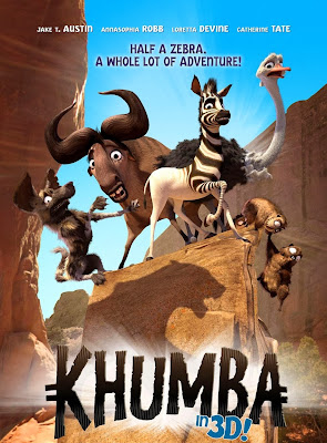 Poster Of Hollywood Film Khumba (2013) In 300MB Compressed Size PC Movie Free Download At worldfree4u.com