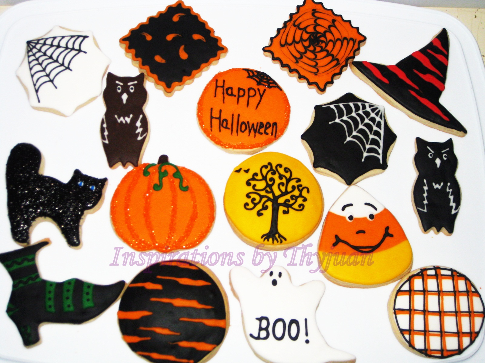 Inspirations by Thyjuan LLC.: Halloween Cookies