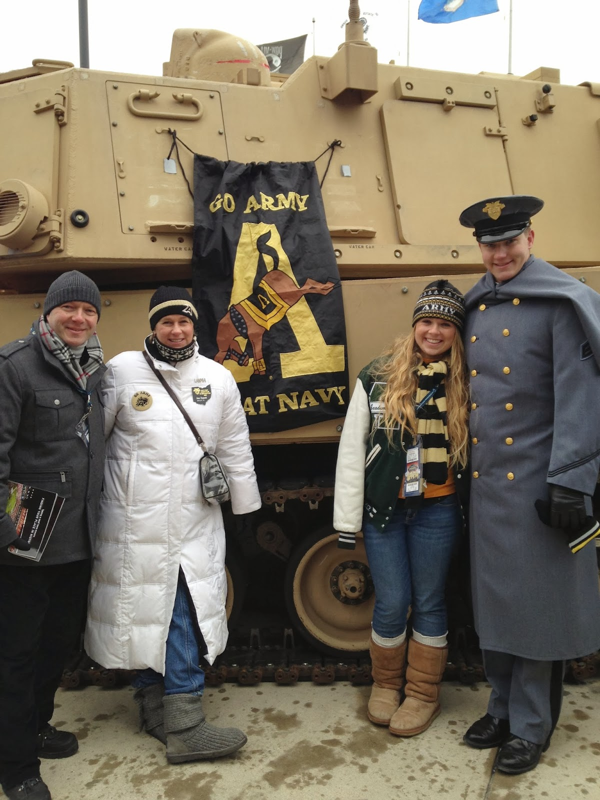 Army-Navy game picture, December 14, 2013