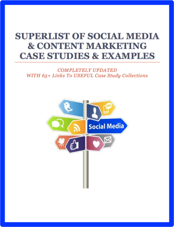 300 case studies of social media marketing
