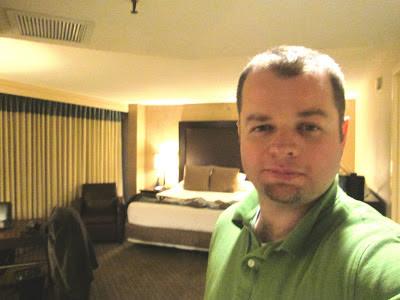 Dr. Joel Gardner at Hyatt Regency Hotel, San Antonio, Texas