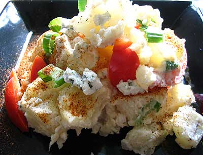 Potato Salad with Blue Cheese Dressing