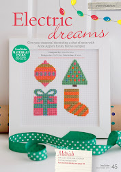 Feature in Cross Stitcher Magazine