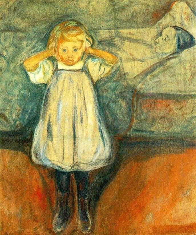 Edvard Munch - Den døde mor