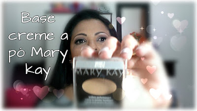 Base creme a pó Mary kay