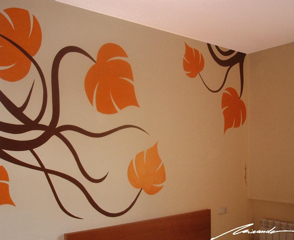 Miranda interiorismo for Murales decorativos