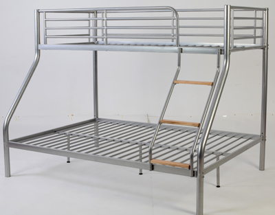 Double Decker Beds Designs : Metal Double Decker Beds, Designs, Available @ Homez Deco.....by order