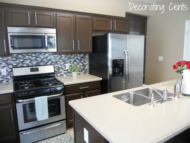 Decorating Cents: Kitchen Cabinets Revealed