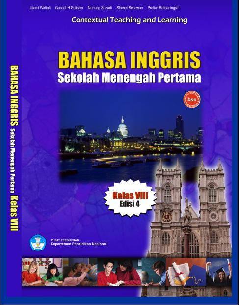 Buku Kita Bahasa Inggris Edisi 4 BSE SMP Kelas 8