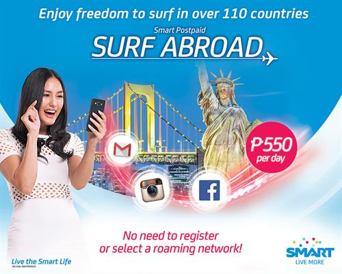Smart Surf Abroad 550