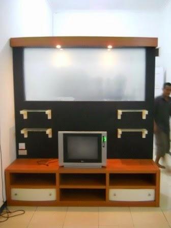 Partisi Sekat Kabinet - Custom Furniture Semarang