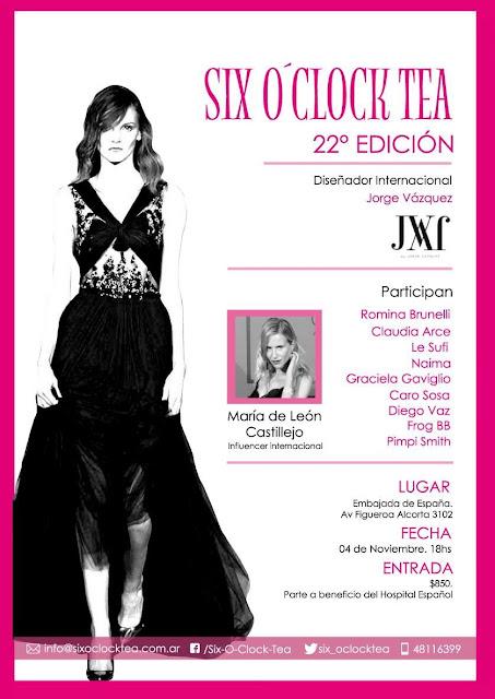 Six O´Clock Tea N°22 Edición. Colecciones de moda primavera verano 2016.