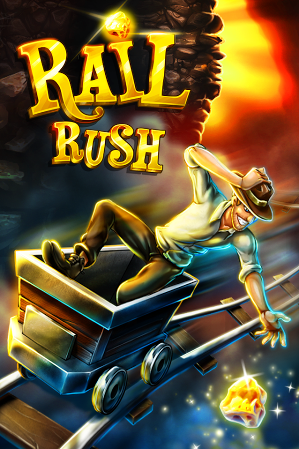 Rail Rush 1.9.0 MOD APK (Unlimited Gold/Everything Unlocked)