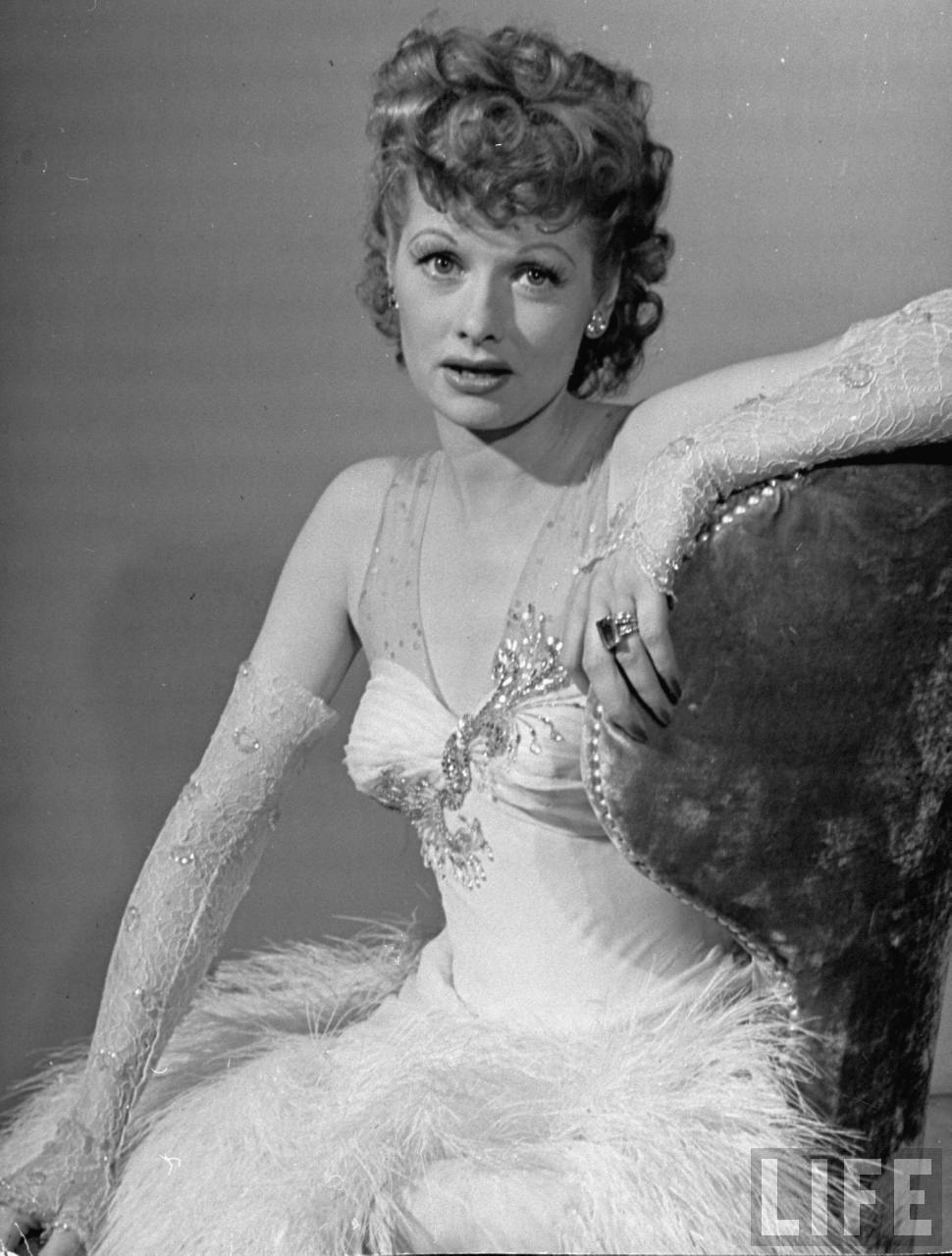 Lucille ball naked