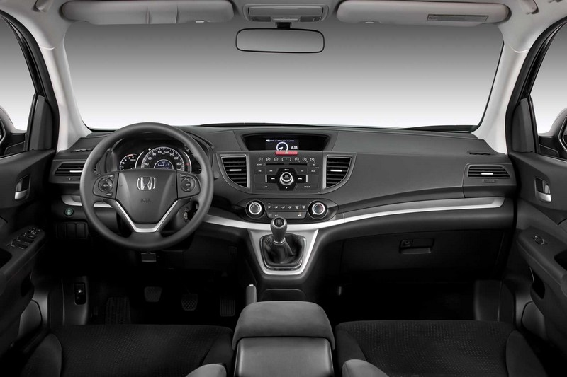 Nova Honda CR-V 2012/2013 interior