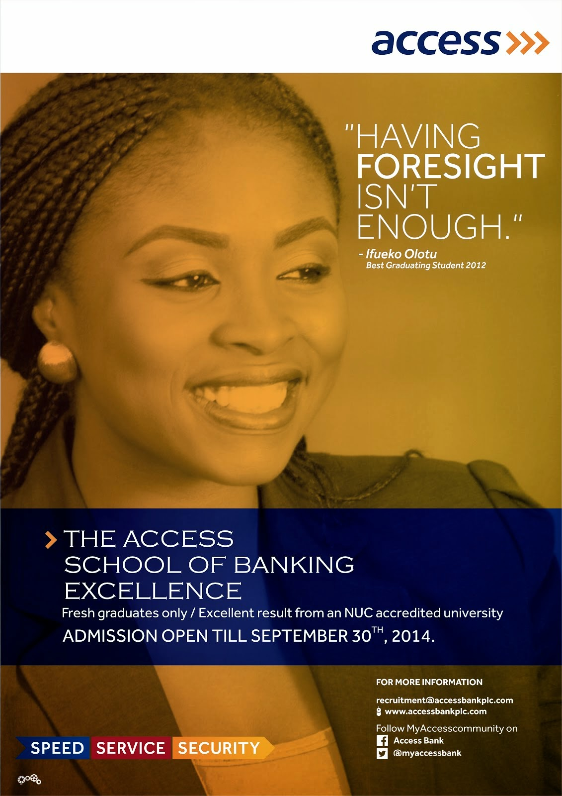 ACCESS BANK RECRUITMENT DRIVE