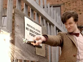 Doctor Who and his sonic screwdriver