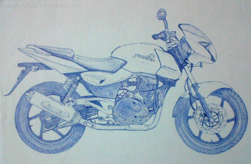 Auto Bike Sketching