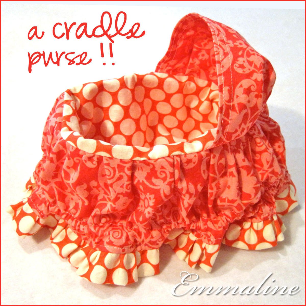 Emmaline Bags: Sewing Patterns and Purse Supplies: Fabric Cradle ...