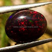 Batu Permata Black Opal Kalimaya - SP930