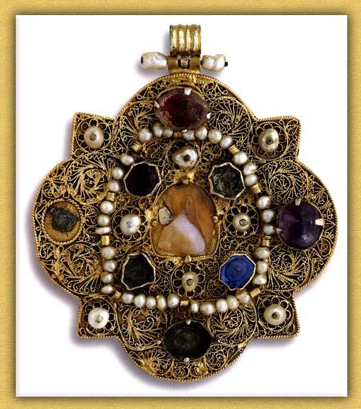 Βυζαντινό εγκόλπιο της Ιεράς Μονής Βατοπαιδίου Αγίου Όρους