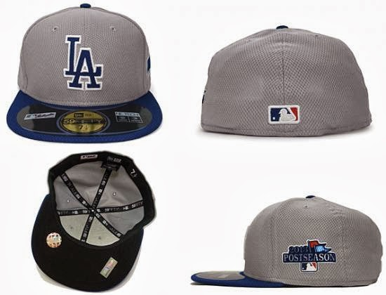 8c116f94e24 Los Angeles Dodgers Postseason Patch 59Fifty Fitted Baseball Cap by NEW ERA  x MLB