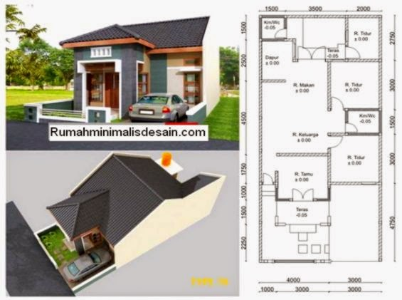 rumah minimalis dan denahnya design rumah minimalis