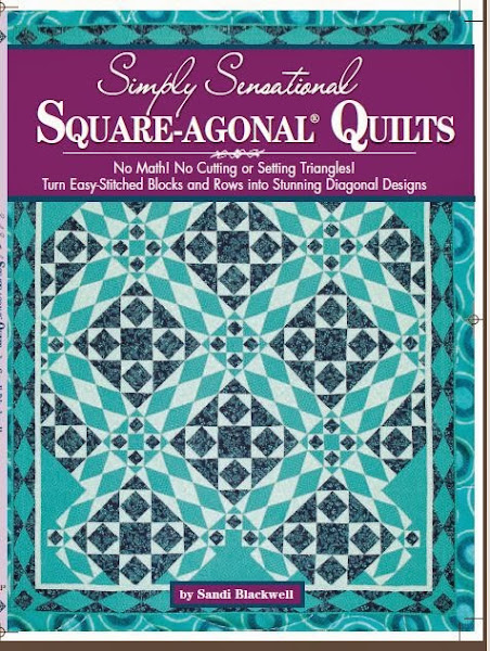 """Simply Sensational Square-agonals Quilts"""