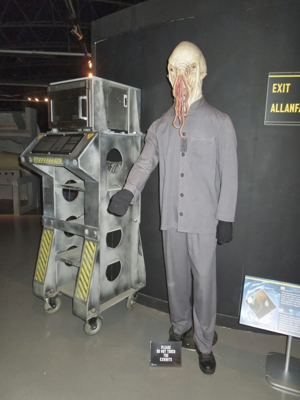 Ood costume mask Doctor Who