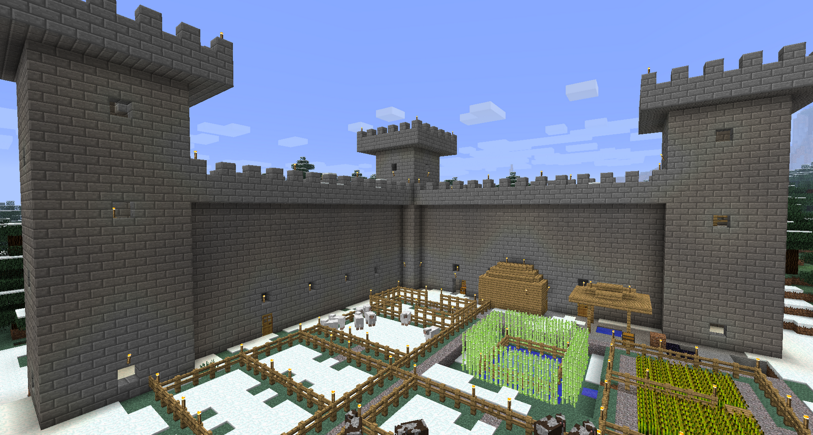 Minecraft modern fortress images for Minecraft modern
