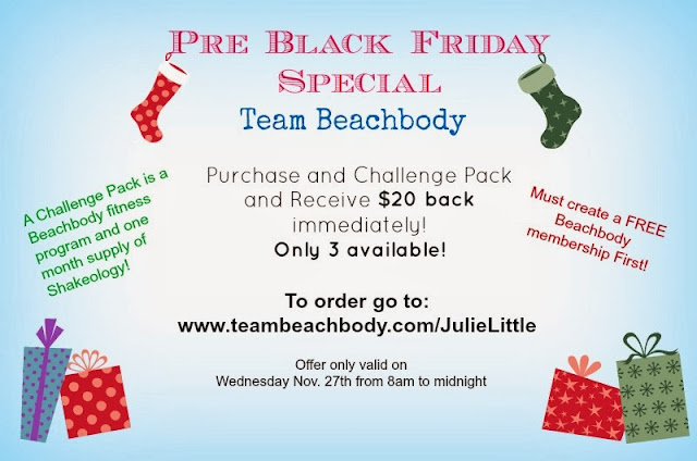 Beachbody Pre-Black Friday Special! www.healthyfitfocused.com