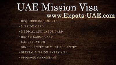 UAE Mission Visa