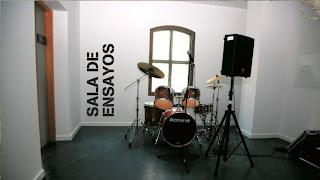 sala de ensayos para grupos en valencia