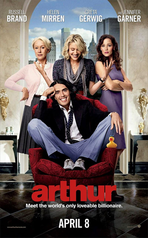 Arthur movies in USA