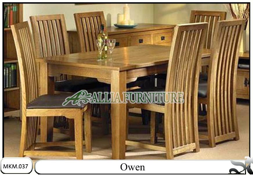 Kursi dan meja makan minimalis Owen