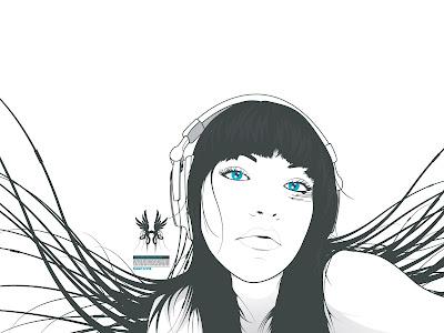amazing wallpaper beautiful girl sketch