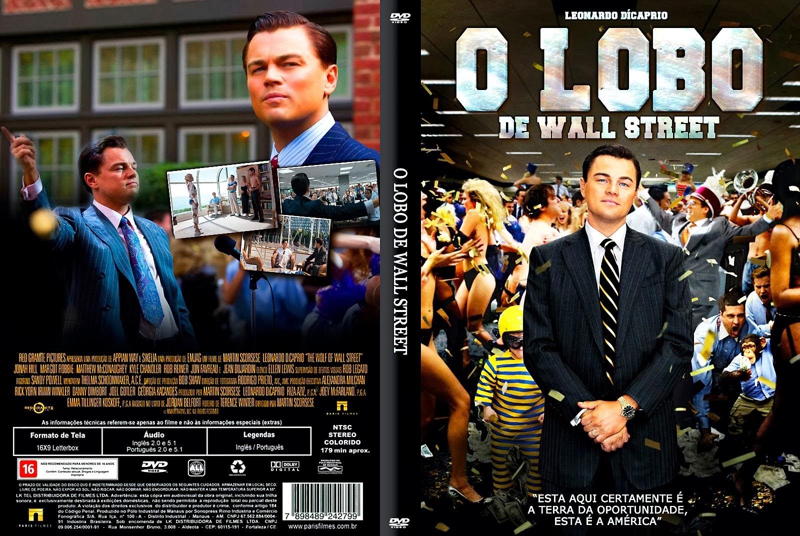 O Lobo de Wall Street BRRip 720p Dual Áudio O LOBO de wall street