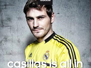 Iker Casillas grabó su primer comercial para Adidas