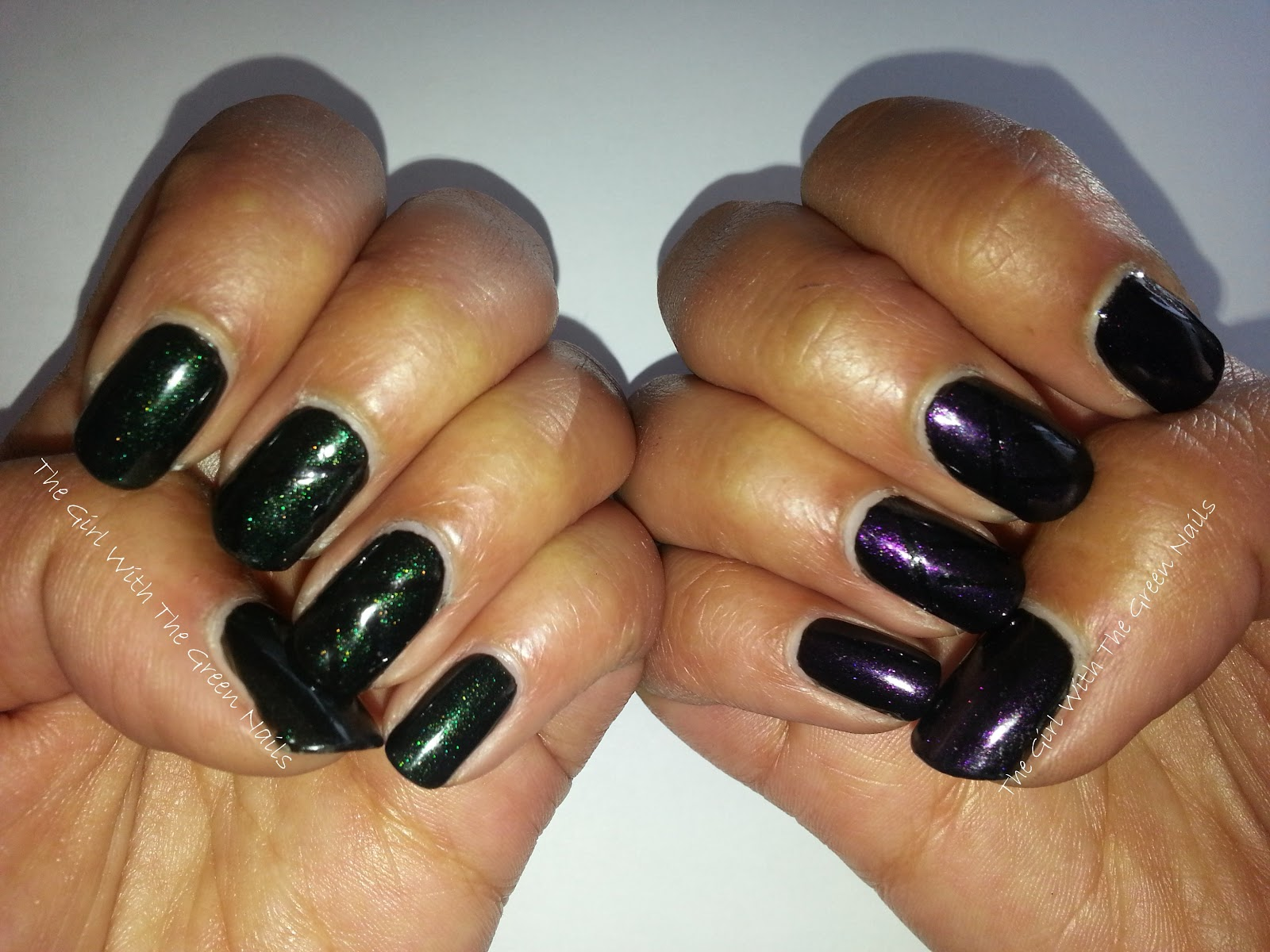 The Girl With The Green Nails: Tantalizing & Enchanting Funky Nails