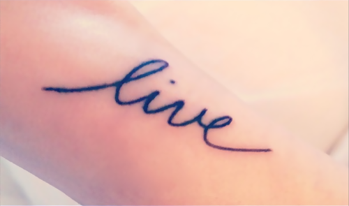 Arm Quote Tattoos | The Arts