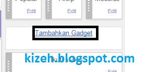 Cara menambahkan feed lain di blog/website kita
