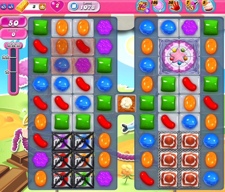 Candy Crush Saga 1078