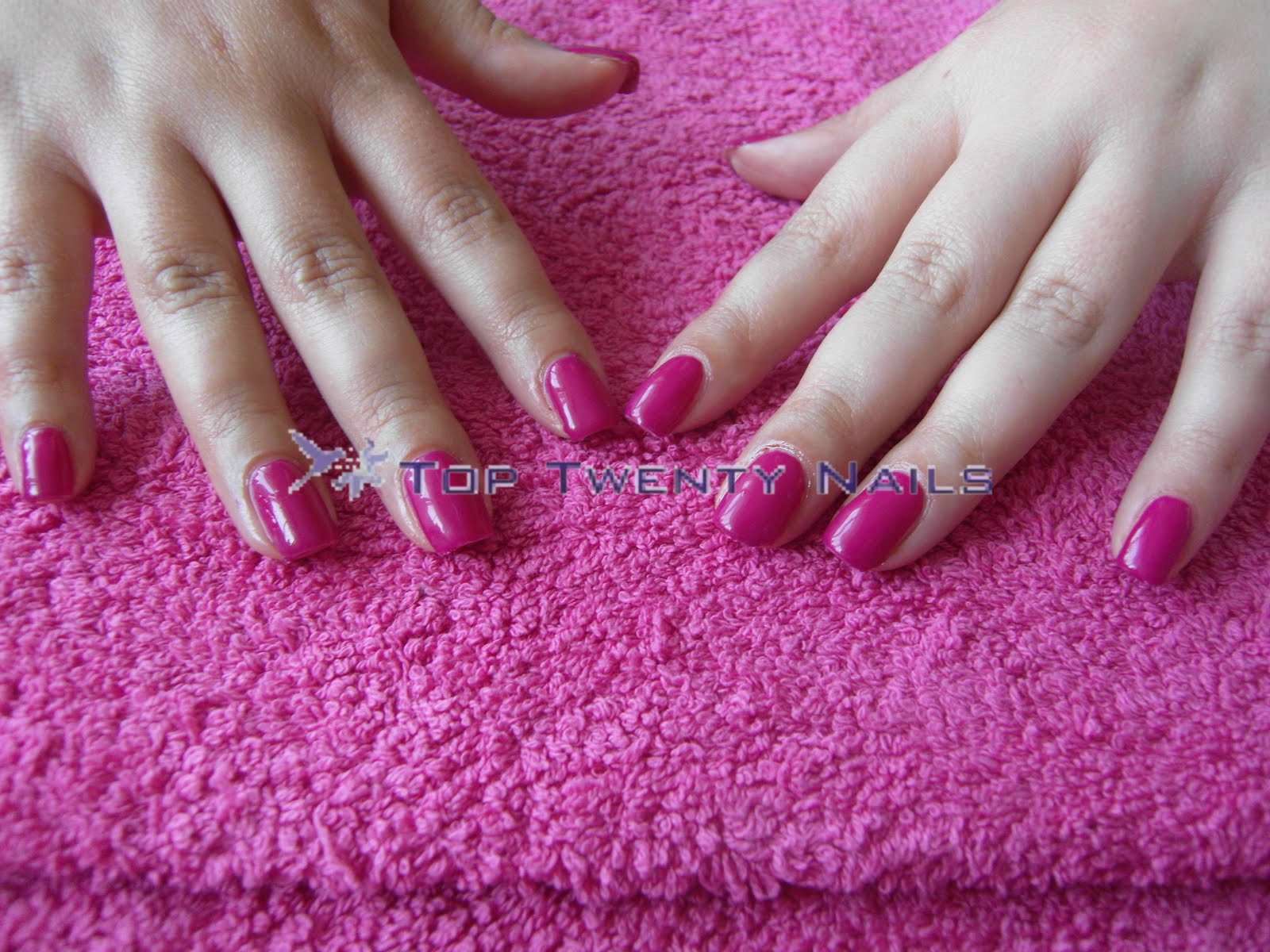 TopTwentyNails: Pink Wednesday! OPI, Shellac and NCO Pinks!!!