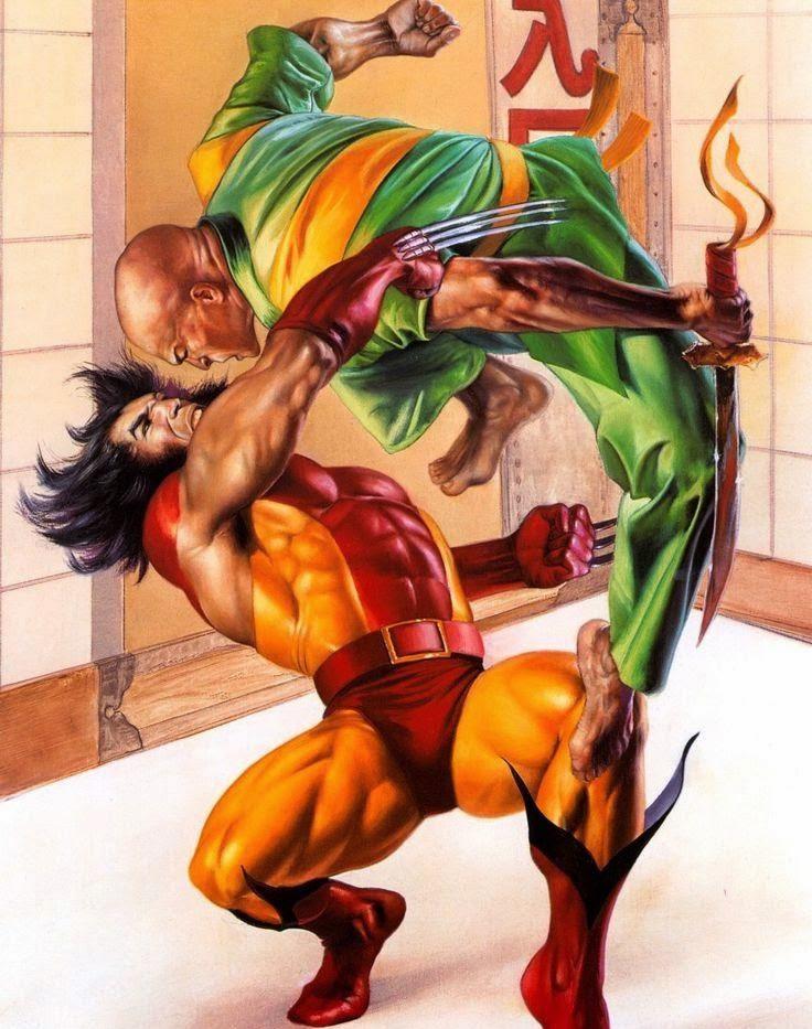 Ogun Marvel Comics Fictional Character, Ogun Vs Wolverine